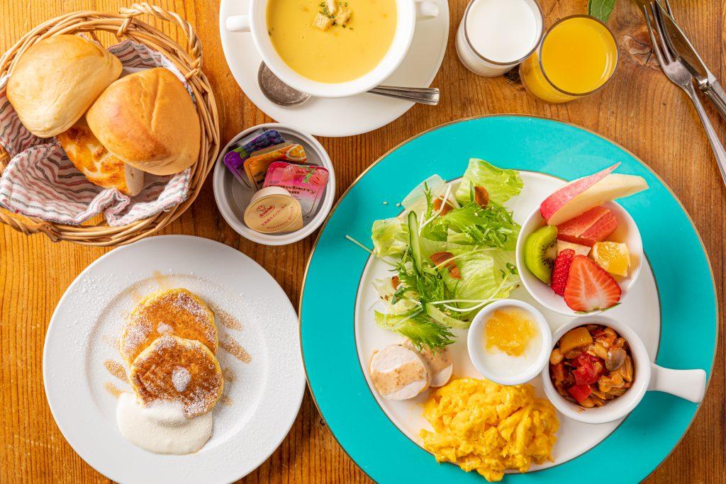 ガーデンヴィラ白浜の朝食
